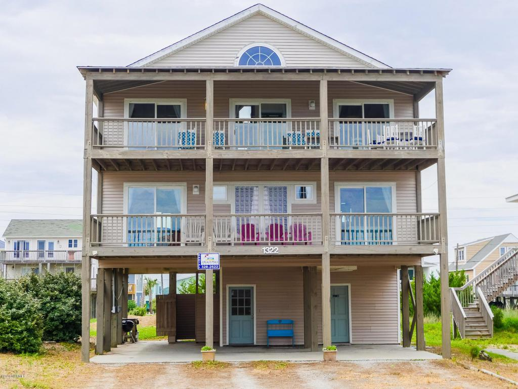 1322 Ocean Boulevard, Topsail Beach, NC 28445 (MLS #100022368) :: Century 21 Sweyer & Associates