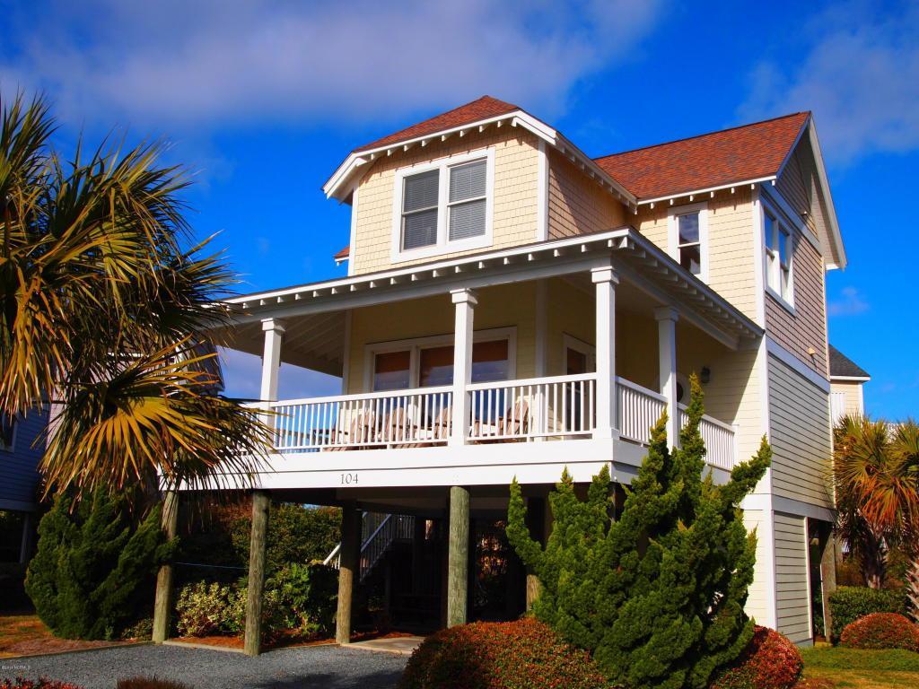 104 Seaside Lane, North Topsail Beach, NC 28460 (MLS #100023113) :: Century 21 Sweyer & Associates