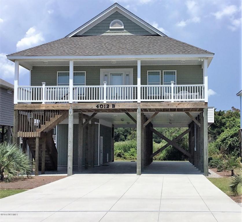 4012 E Dolphin Drive B, Oak Island, NC 28465 (MLS #100023647) :: Century 21 Sweyer & Associates