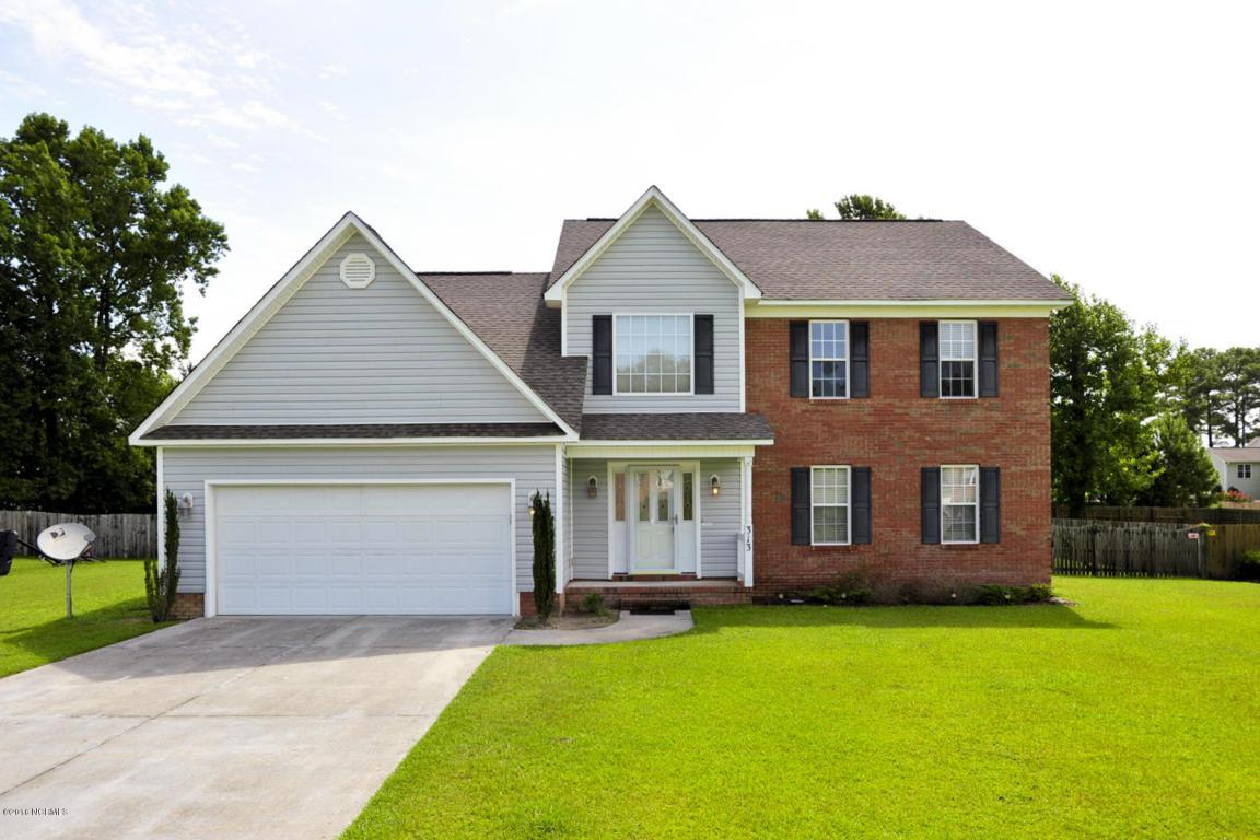 313 Rock Creek Drive S, Jacksonville, NC 28540 (MLS #100024285) :: Century 21 Sweyer & Associates