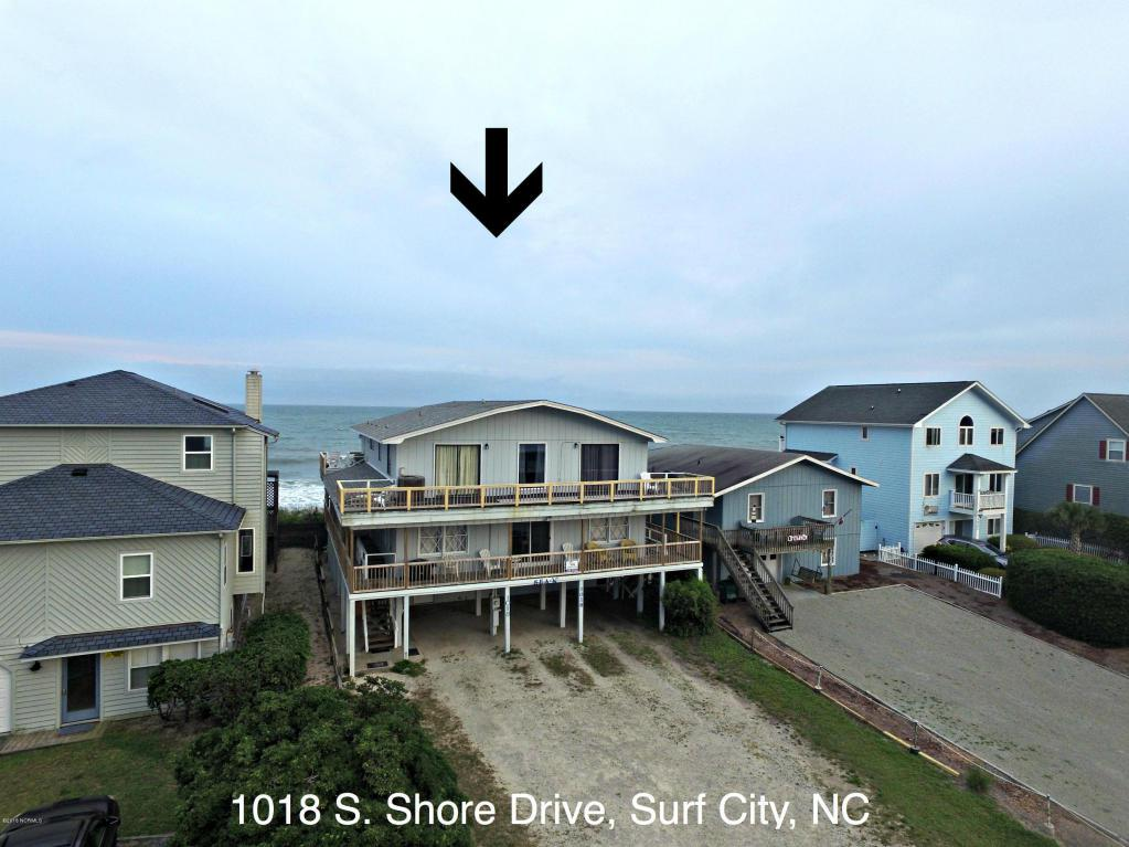 1018 S Shore Drive, Surf City, NC 28445 (MLS #100024855) :: Century 21 Sweyer & Associates