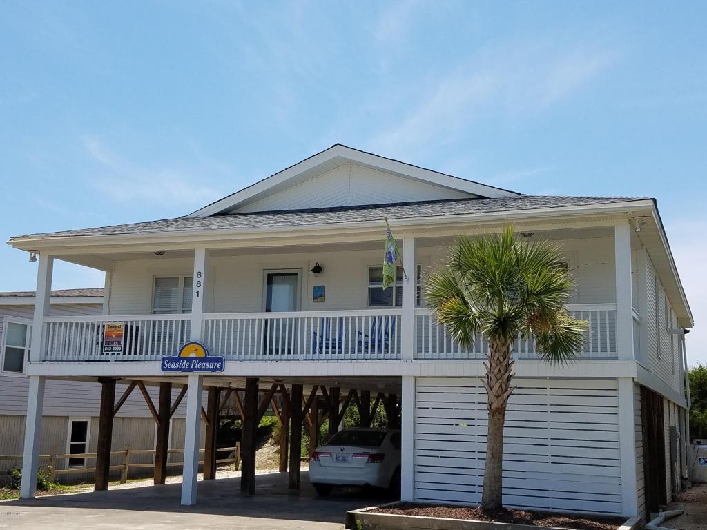 881 Ocean Boulevard W, Holden Beach, NC 28462 (MLS #100025205) :: Century 21 Sweyer & Associates
