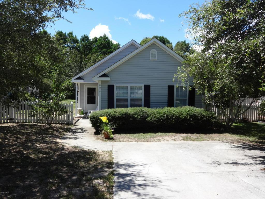 806 Southern Charm Drive, Wilmington, NC 28412 (MLS #100025519) :: Century 21 Sweyer & Associates