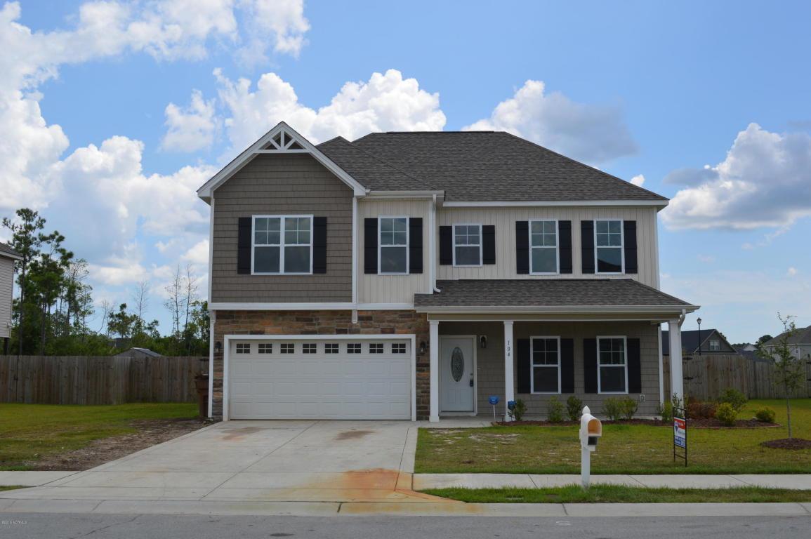 104 Stonewater Lane, Jacksonville, NC 28546 (MLS #100026267) :: Century 21 Sweyer & Associates