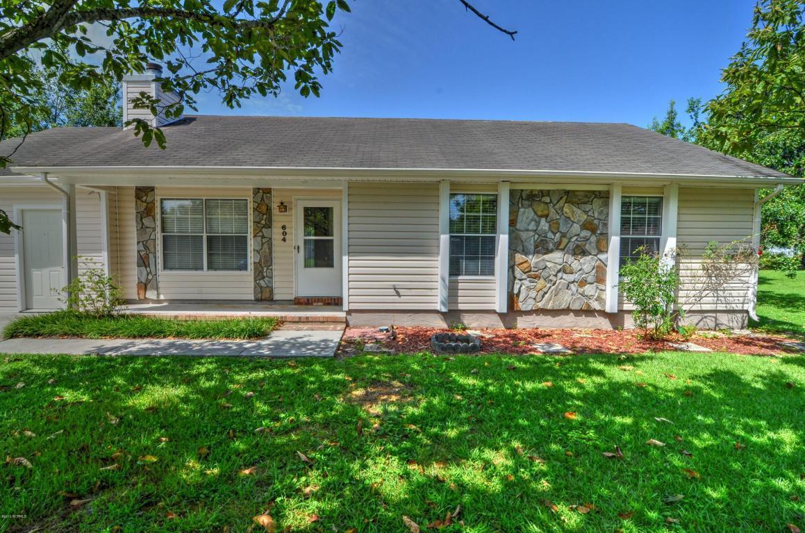 604 Wolverine Place, Jacksonville, NC 28546 (MLS #100026841) :: Century 21 Sweyer & Associates
