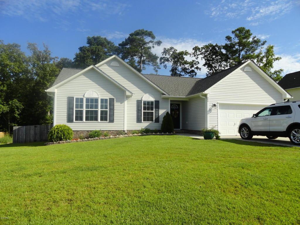 204 Gillespie Drive, Hubert, NC 28539 (MLS #100026941) :: Century 21 Sweyer & Associates
