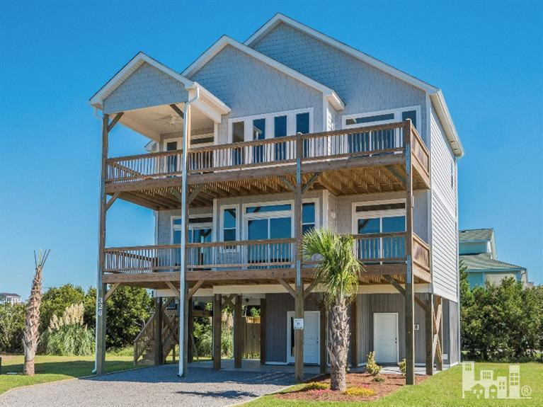 306 Oceanaire Lane, Surf City, NC 28445 (MLS #100027594) :: Century 21 Sweyer & Associates