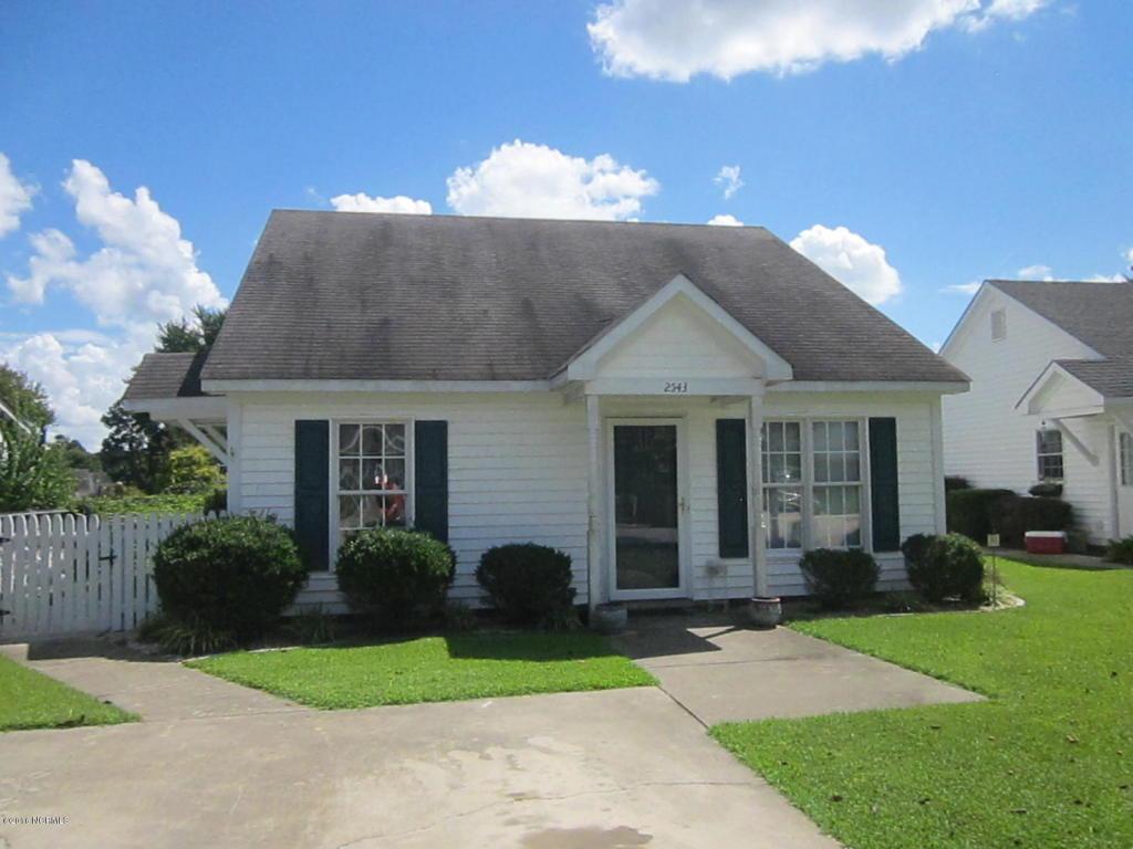 2543 Pond Drive N, Wilson, NC 27896 (MLS #100027679) :: Century 21 Sweyer & Associates