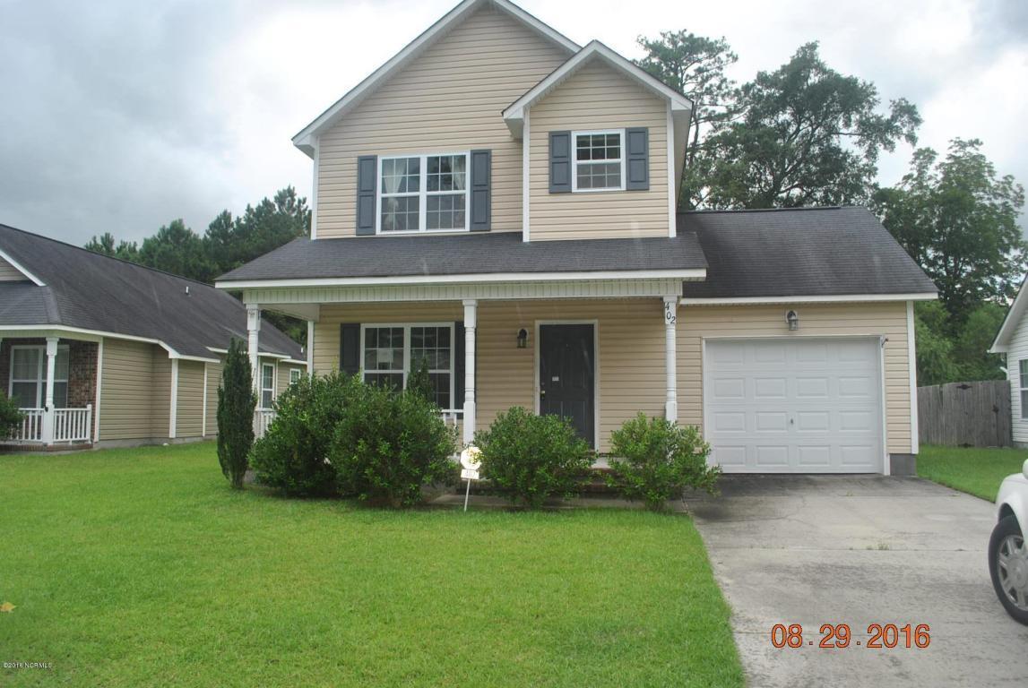 402 Mattocks Avenue, Maysville, NC 28555 (MLS #100027802) :: Century 21 Sweyer & Associates