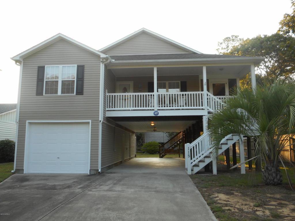 115 NE 38th Street, Oak Island, NC 28465 (MLS #100028687) :: Century 21 Sweyer & Associates