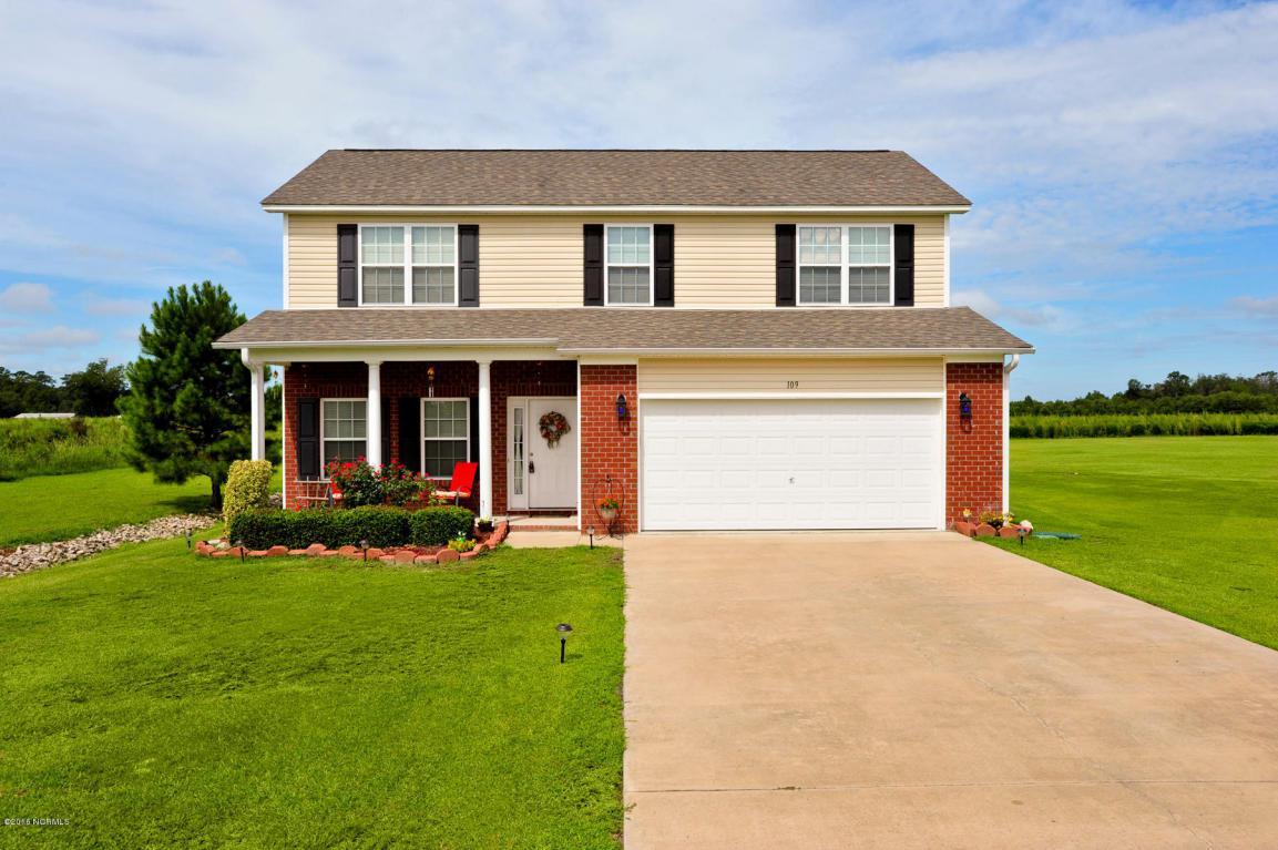 109 Hardin Drive, Maysville, NC 28555 (MLS #100028746) :: Century 21 Sweyer & Associates