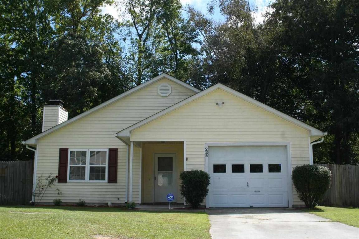 235 Pollard Drive, Jacksonville, NC 28540 (MLS #100028781) :: Century 21 Sweyer & Associates