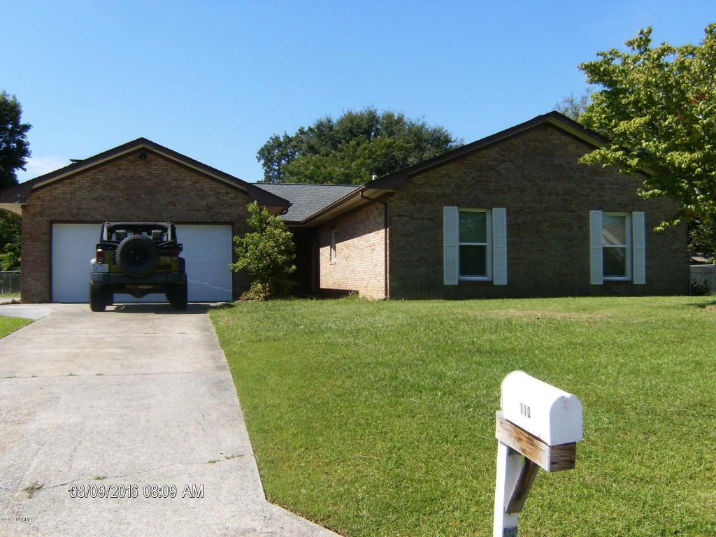 110 Birch Road, Jacksonville, NC 28546 (MLS #100028793) :: Century 21 Sweyer & Associates