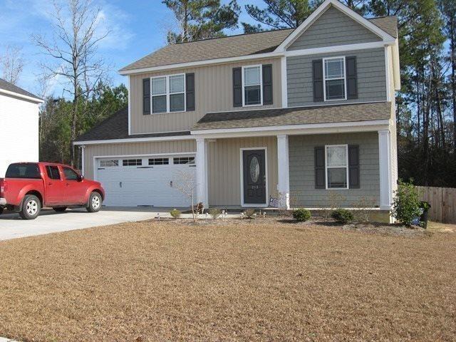 313 Jasmine Lane, Jacksonville, NC 28546 (MLS #100028911) :: Century 21 Sweyer & Associates