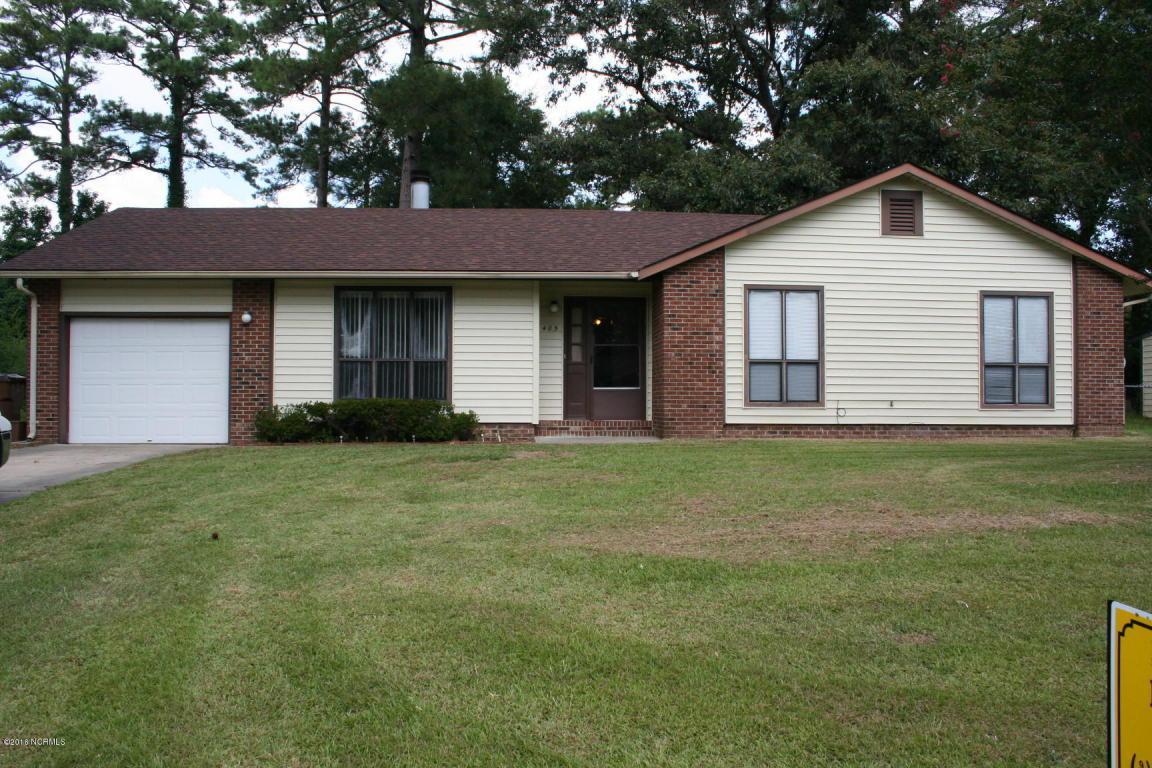 405 Sterling Road, Jacksonville, NC 28546 (MLS #100029136) :: Century 21 Sweyer & Associates
