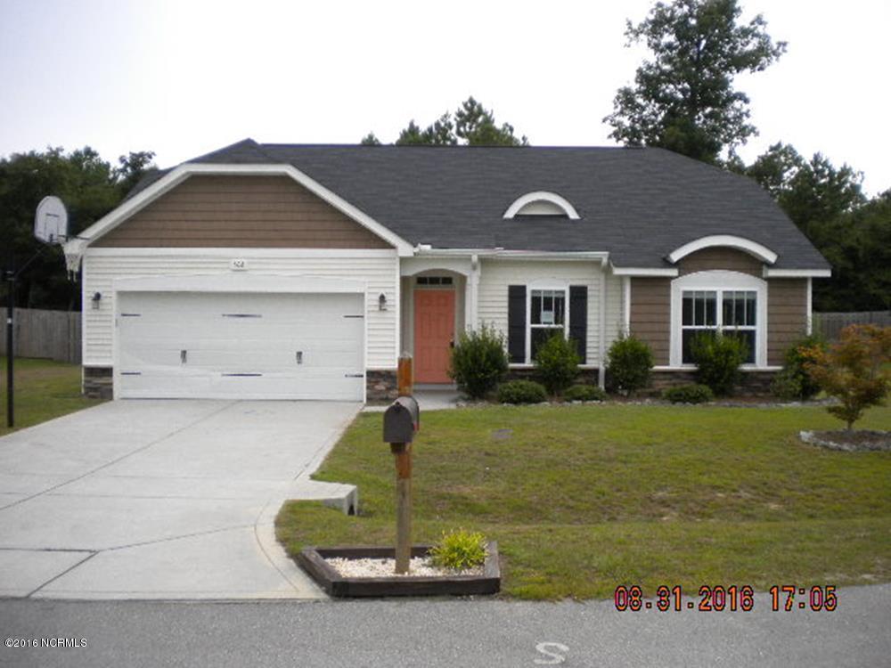 508 Pepperwood Lane, Hubert, NC 28539 (MLS #100029243) :: Century 21 Sweyer & Associates