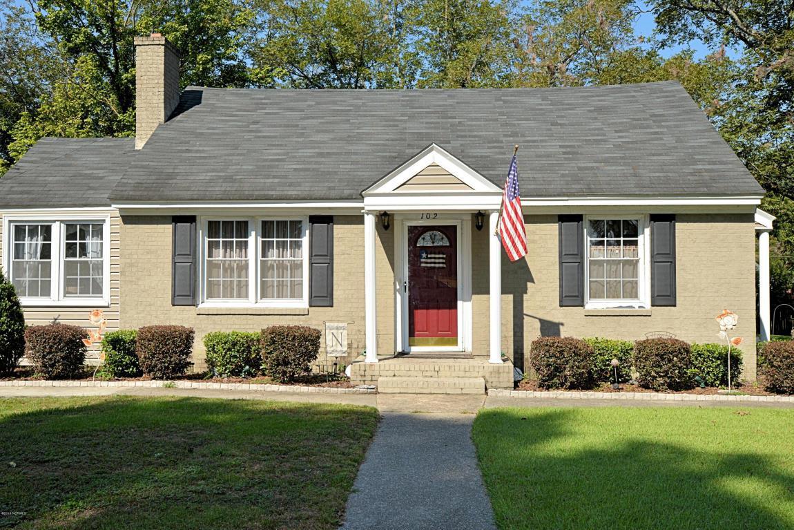 102 Contentnea Street, Greenville, NC 27834 (MLS #100029499) :: Century 21 Sweyer & Associates