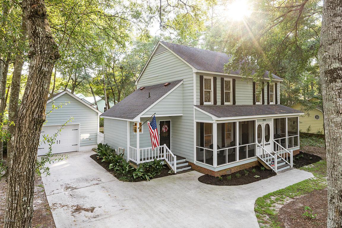 205 Yaupon Drive, Southport, NC 28461 (MLS #100029538) :: Century 21 Sweyer & Associates