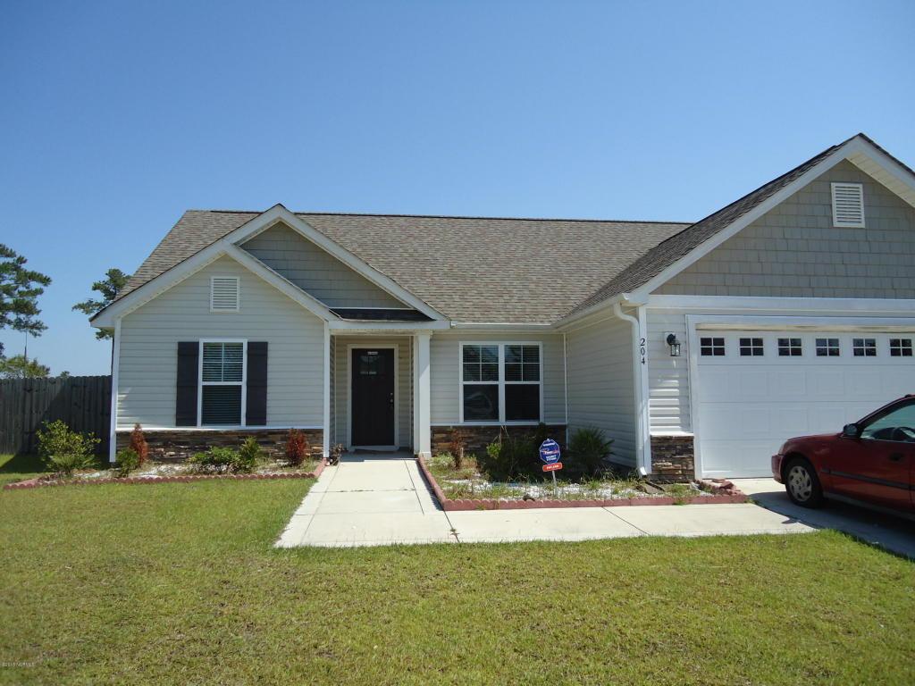 204 Hidden Oaks Drive, Jacksonville, NC 28546 (MLS #100029763) :: Century 21 Sweyer & Associates
