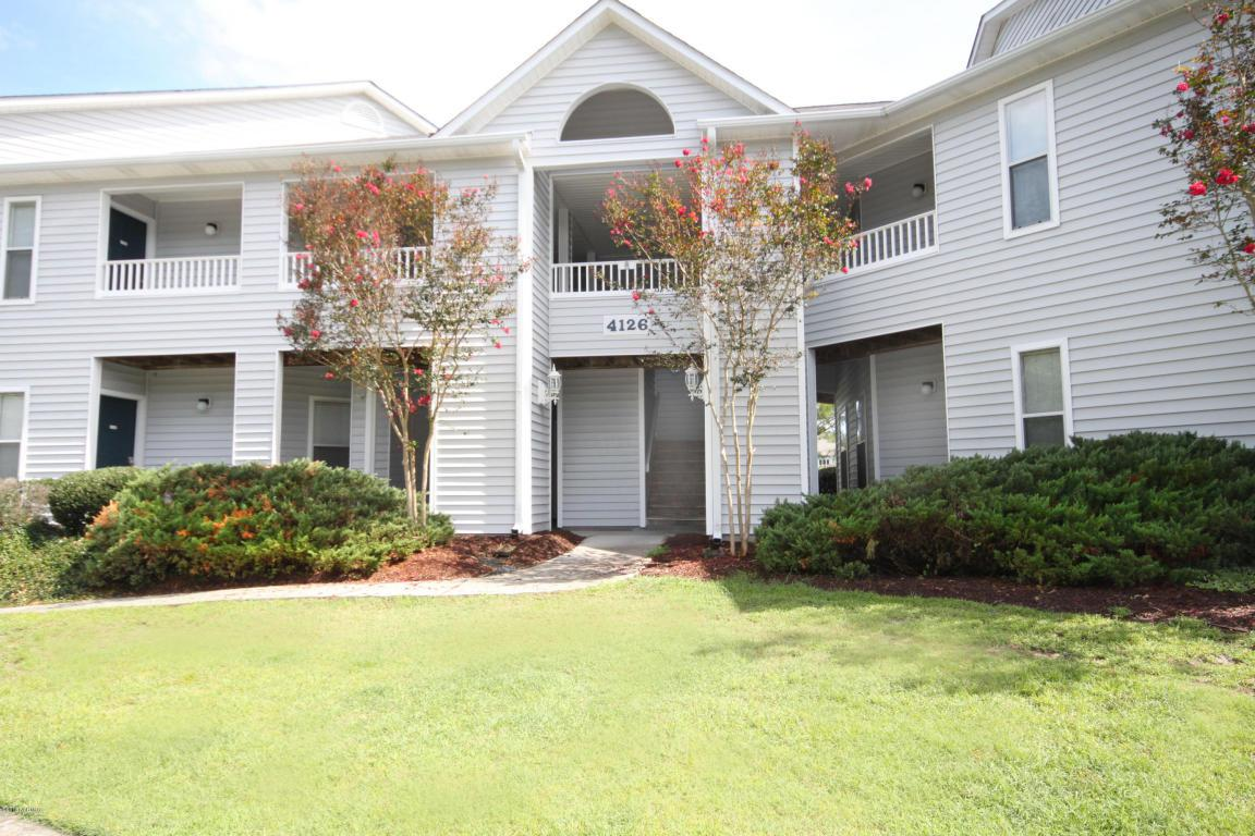 4126 Breezewood Drive #203, Wilmington, NC 28412 (MLS #100030322) :: Century 21 Sweyer & Associates