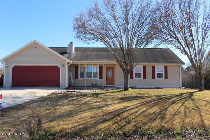 415 Dion Drive, Hubert, NC 28539 (MLS #100030840) :: Century 21 Sweyer & Associates