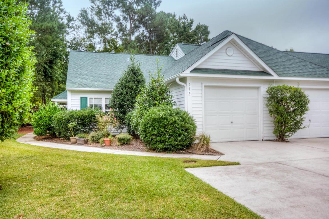 315 Emerald Cove Court #20, Wilmington, NC 28409 (MLS #100030970) :: Century 21 Sweyer & Associates