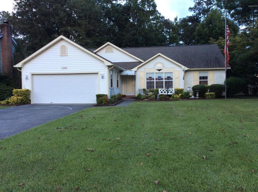 190 Audubon Drive, Jacksonville, NC 28546 (MLS #100031030) :: Century 21 Sweyer & Associates