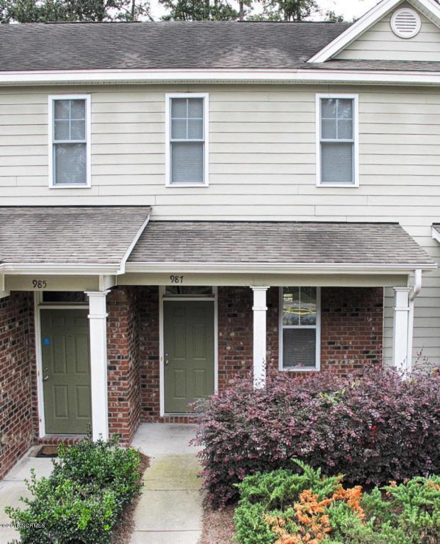 987 Downey Branch Lane, Wilmington, NC 28403 (MLS #100031093) :: Century 21 Sweyer & Associates