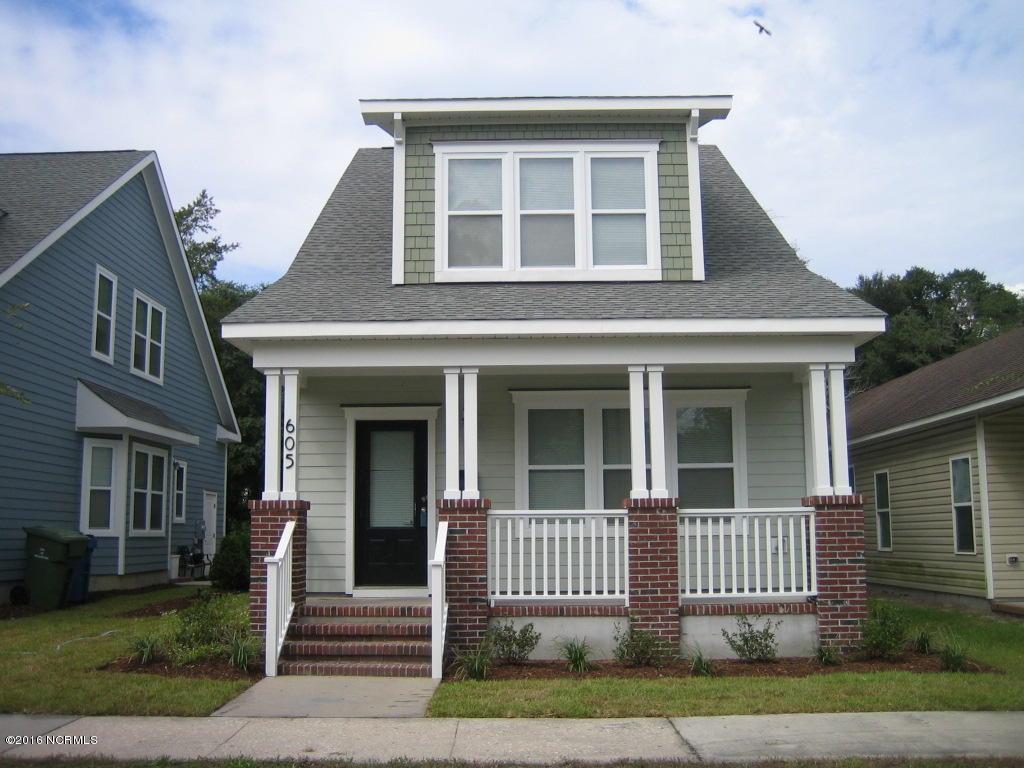 605 Campbell Street, Wilmington, NC 28401 (MLS #100031657) :: Century 21 Sweyer & Associates