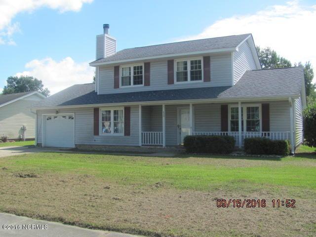 220 Branchwood Drive, Jacksonville, NC 28546 (MLS #100031758) :: Century 21 Sweyer & Associates