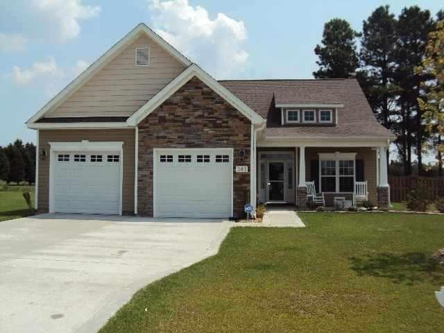 203 Maidstone Drive, Richlands, NC 28574 (MLS #100031869) :: Century 21 Sweyer & Associates