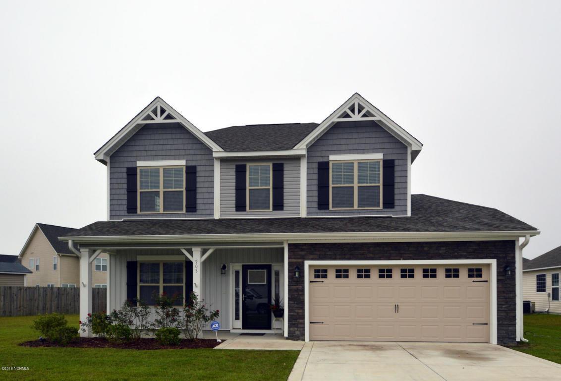 903 Roswell Lane, Jacksonville, NC 28546 (MLS #100032055) :: Century 21 Sweyer & Associates