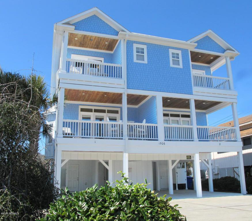 1506 Lake Park Boulevard S #1, Carolina Beach, NC 28428 (MLS #100032076) :: Century 21 Sweyer & Associates