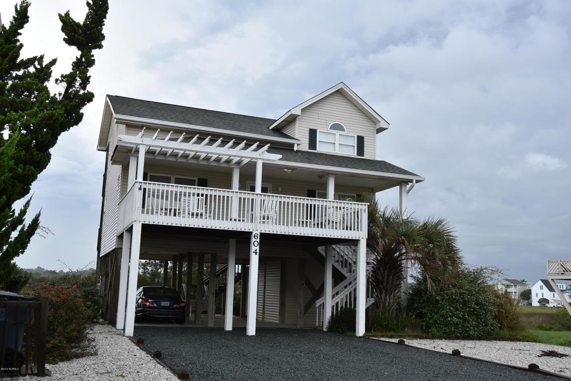 604 Ocean Boulevard W, Holden Beach, NC 28462 (MLS #100032128) :: Century 21 Sweyer & Associates