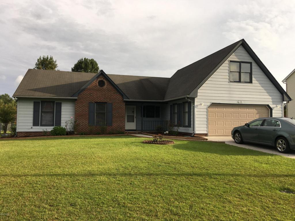 411 Raintree Road, Jacksonville, NC 28540 (MLS #100032425) :: Century 21 Sweyer & Associates