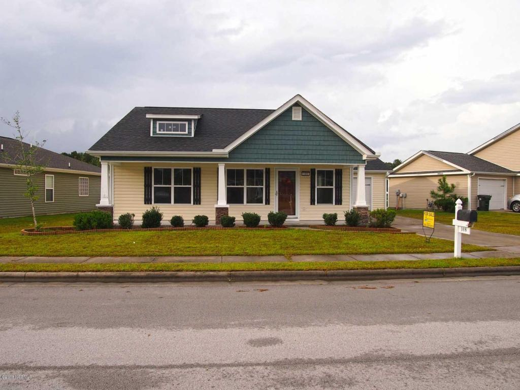 108 Craftsman Drive, New Bern, NC 28562 (MLS #100032434) :: Century 21 Sweyer & Associates