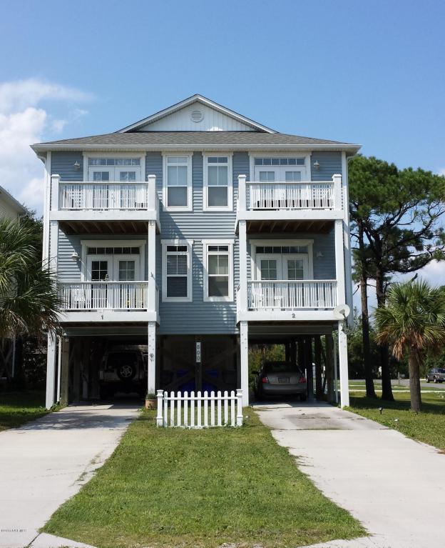 500 Tennessee Avenue #1, Carolina Beach, NC 28428 (MLS #100032631) :: Century 21 Sweyer & Associates