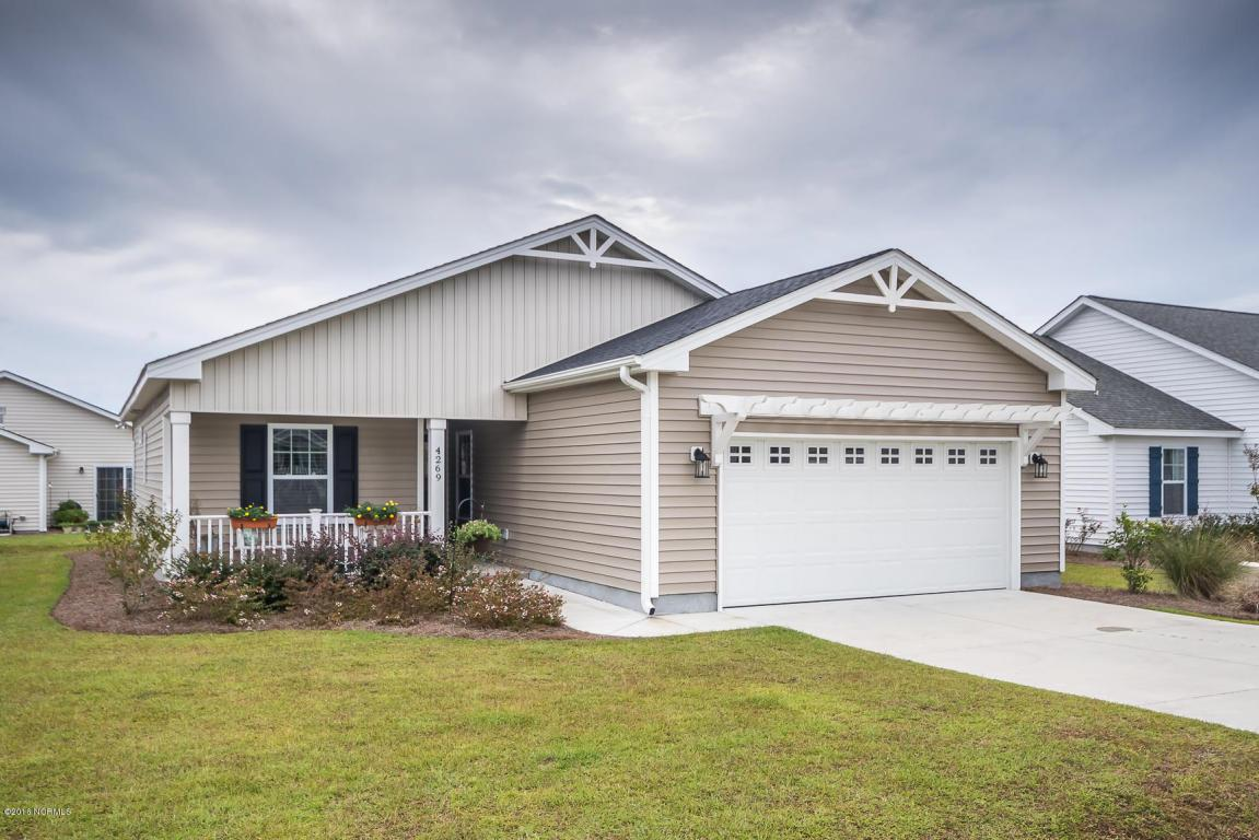 4269 Cherry Laurel Drive SE, Southport, NC 28461 (MLS #100032703) :: Century 21 Sweyer & Associates