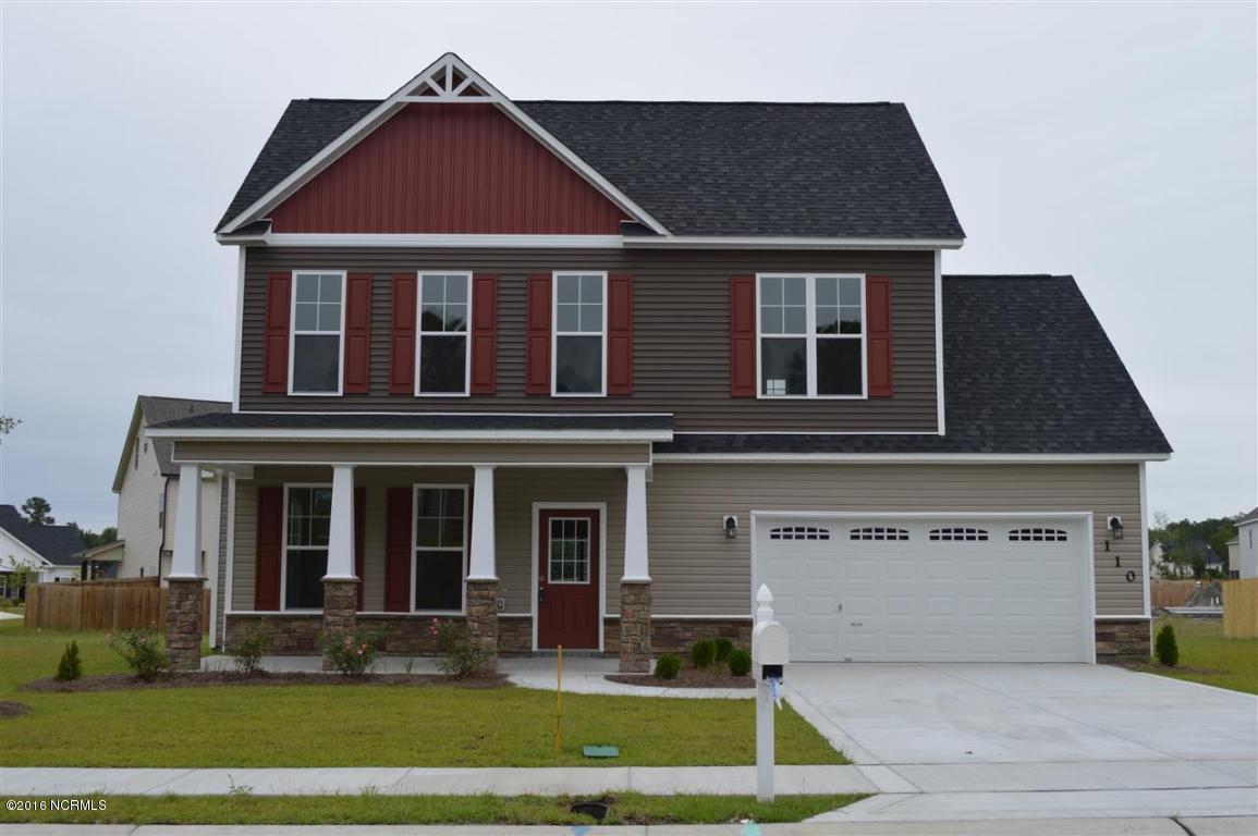 110 Stonecroft Lane, Jacksonville, NC 28546 (MLS #100032937) :: Century 21 Sweyer & Associates