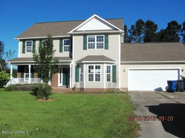 105 Grantham Lane, Jacksonville, NC 28546 (MLS #100033091) :: Century 21 Sweyer & Associates