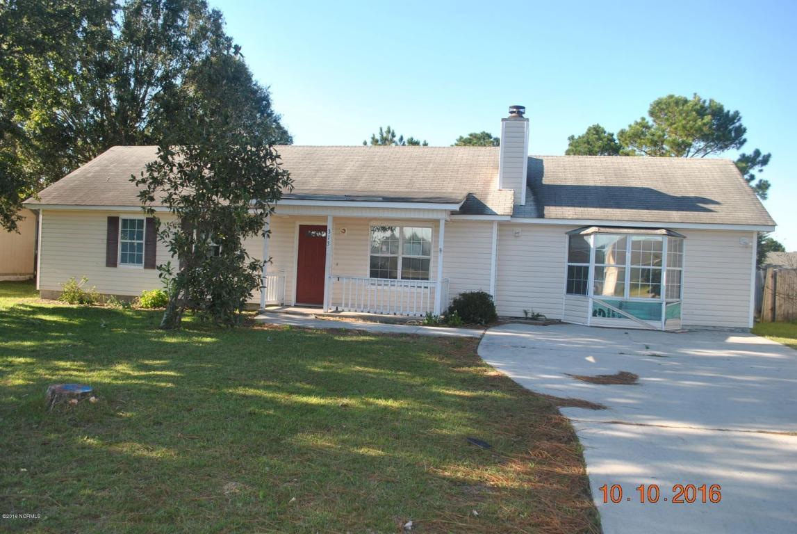313 Foxtrace Lane, Hubert, NC 28539 (MLS #100033110) :: Century 21 Sweyer & Associates