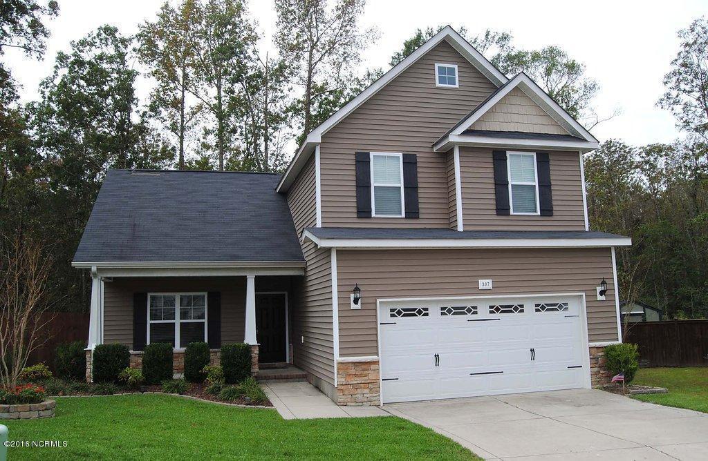 307 Bonnie Court, Sneads Ferry, NC 28460 (MLS #100033379) :: Century 21 Sweyer & Associates