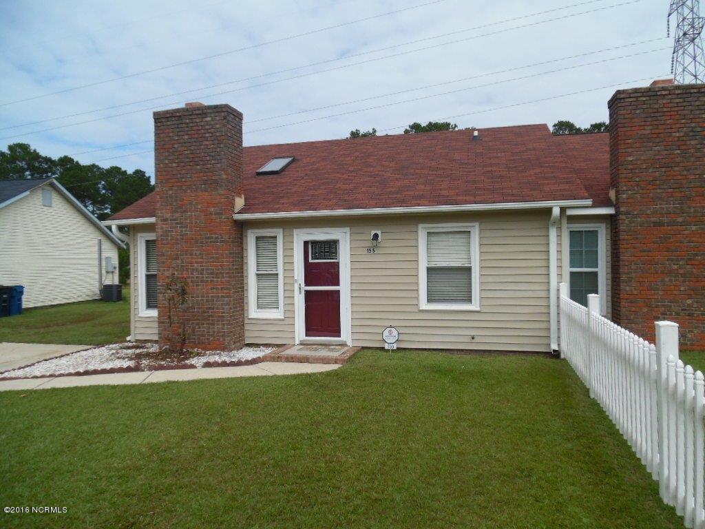 155 Pine Crest Drive, Jacksonville, NC 28546 (MLS #100033381) :: Century 21 Sweyer & Associates