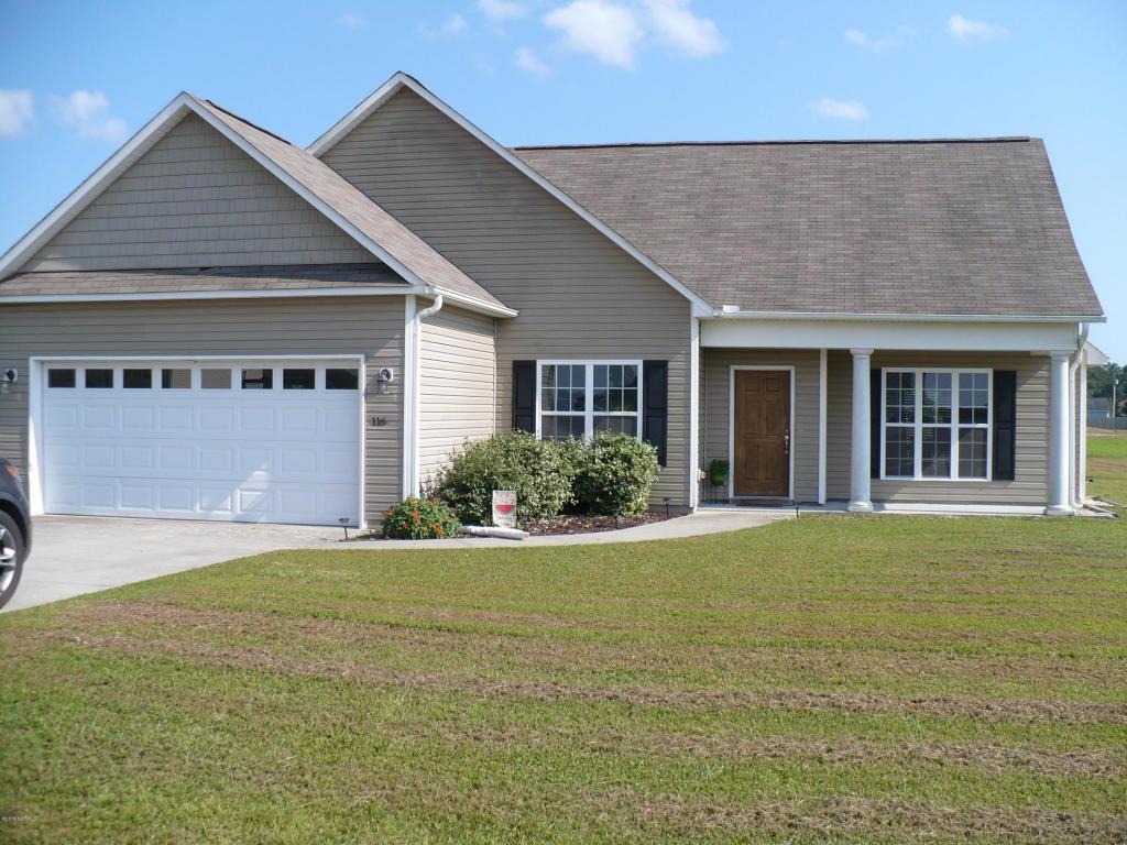 116 Cherry Grove Drive, Richlands, NC 28574 (MLS #100033581) :: Century 21 Sweyer & Associates