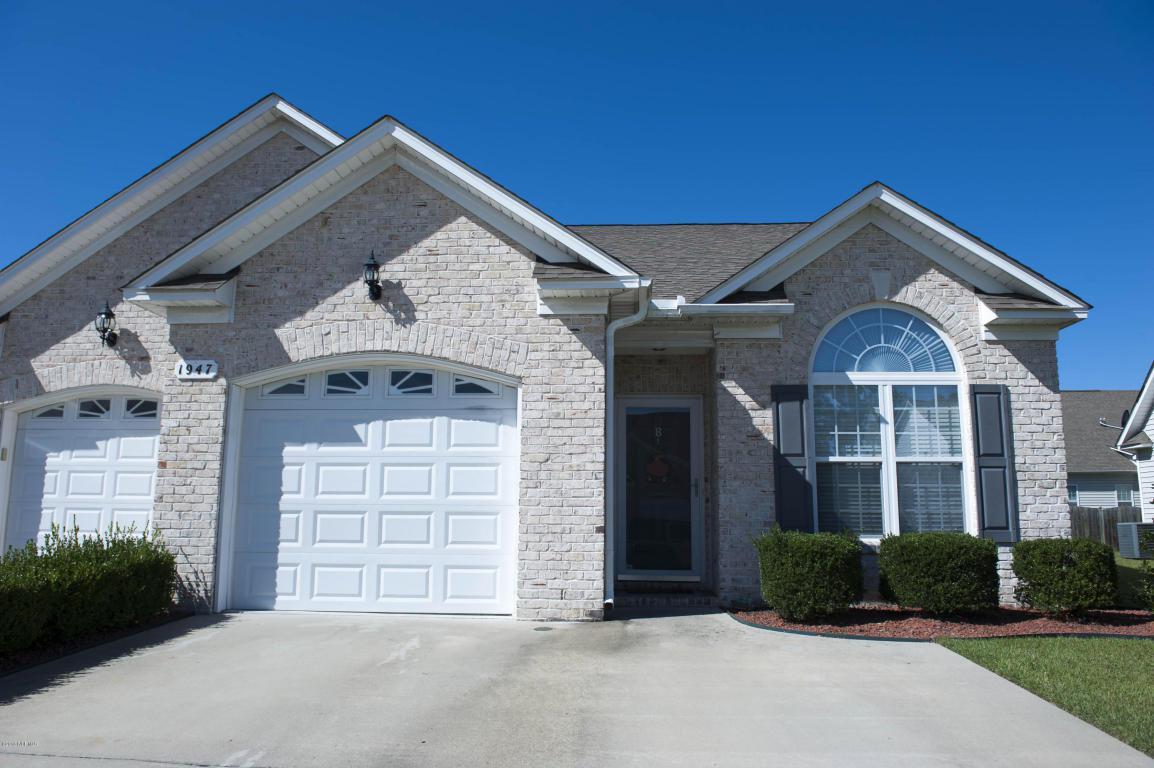 1947 Cambria Drive B, Greenville, NC 27834 (MLS #100033628) :: Century 21 Sweyer & Associates