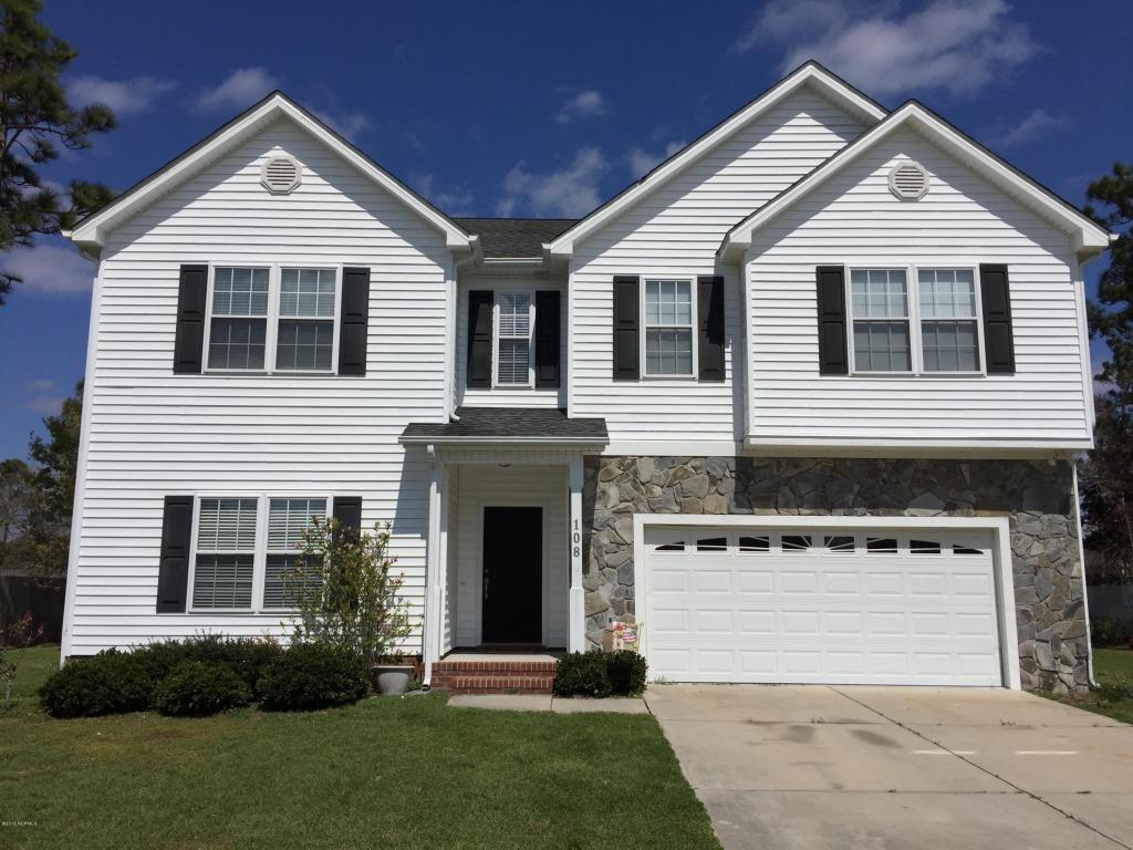 108 Tifton Circle, Cape Carteret, NC 28584 (MLS #100033764) :: Century 21 Sweyer & Associates