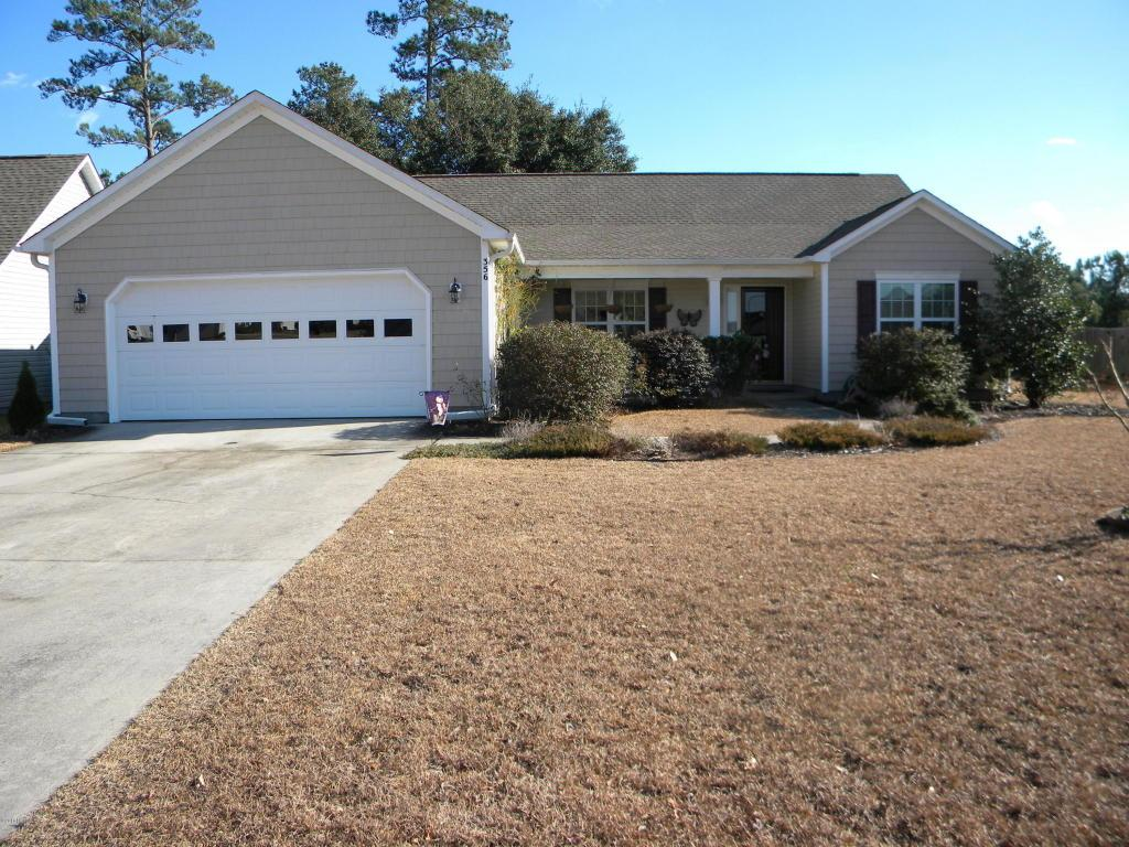 356 Rose Bud Lane, Holly Ridge, NC 28445 (MLS #100033897) :: Century 21 Sweyer & Associates