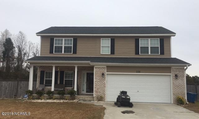 238 Southwoods Lane, Jacksonville, NC 28540 (MLS #100038429) :: Century 21 Sweyer & Associates