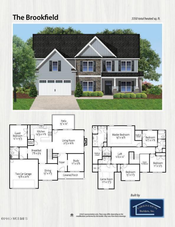 217 Willow Bridge Drive, Stella, NC 28582 (MLS #100045159) :: Century 21 Sweyer & Associates