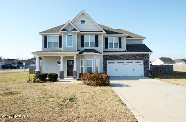 156 Prelude Drive, Richlands, NC 28574 (MLS #100053642) :: Century 21 Sweyer & Associates